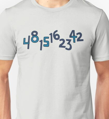 Numbers Unisex T-Shirt