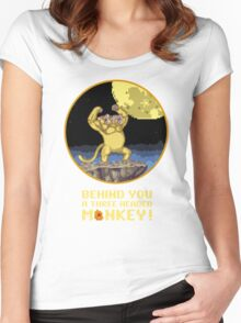 A Three headed Monkey! Women's Fitted Scoop T-Shirt