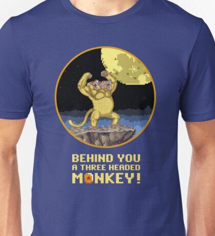 A Three headed Monkey! Unisex T-Shirt