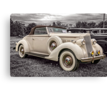 1936 Packard 120 Convertible Coupe Canvas Print
