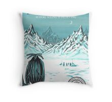 Antarctic - where seeing is believing Throw Pillow