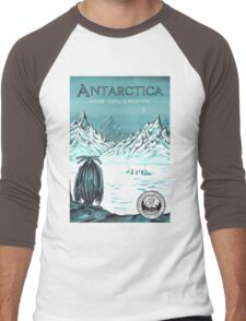 Antarctic - where seeing is believing Men's Baseball ¾ T-Shirt