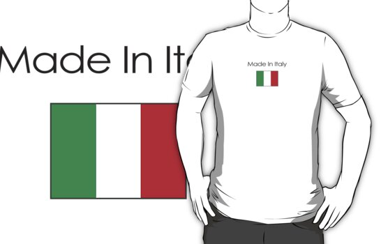 Made In Italy (Dark logo) by Brian Harrison