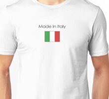 Made In Italy (Dark logo) Unisex T-Shirt