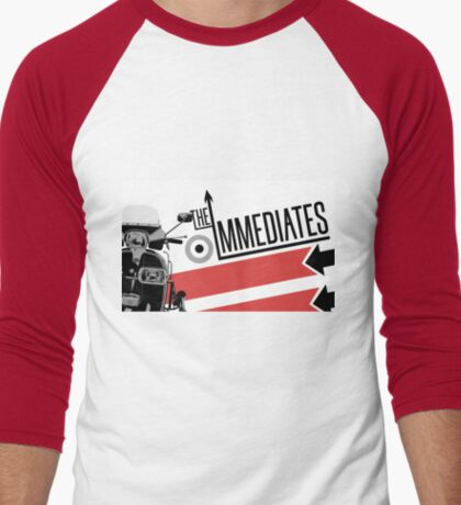 The Immediates Scooter Art Men's Baseball ¾ T-Shirt