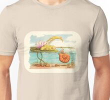 Submarine in a harbor - watercolor Unisex T-Shirt