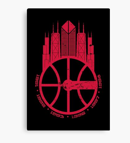 Chicago Balls Canvas Print