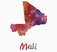 Mali in watercolor One Piece - Short Sleeve