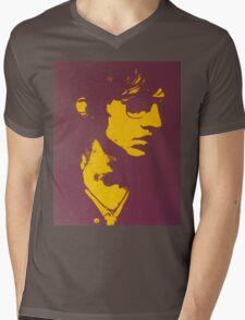 Lucky Man Mens V-Neck T-Shirt