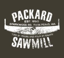 Packard Sawmill (Light logo) by Brian Harrison
