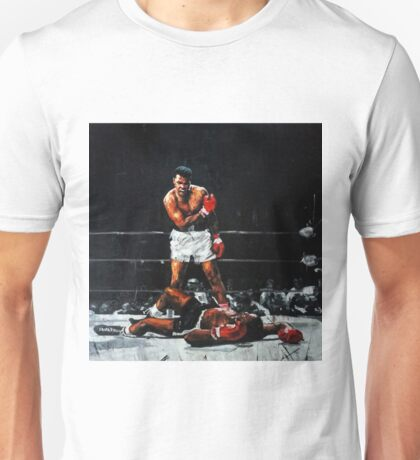 Muhammad Ali Knocks Out Sonny Liston Unisex T-Shirt