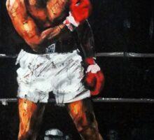 Muhammad Ali Knocks Out Sonny Liston Sticker