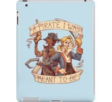 A Pirate I Was Meant To Be iPad Case/Skin