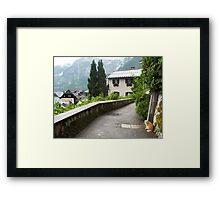 Cats of Hallstatt Framed Print