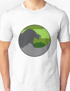 The Great Wave - Green Unisex T-Shirt