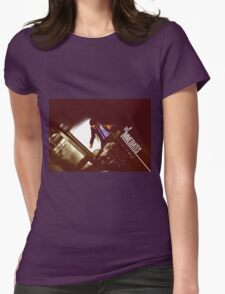 The Immediates drums Womens Fitted T-Shirt