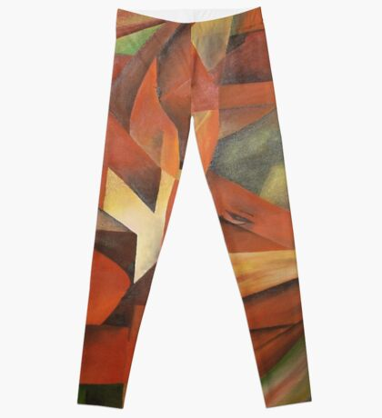 """""""Foxes"""" -  Homage to Franz Marc (1913)     Leggings"""