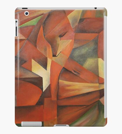 """Foxes"" -  Homage to Franz Marc (1913)     iPad Case/Skin"