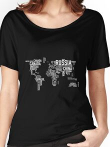 Countries of the world I Women's Relaxed Fit T-Shirt