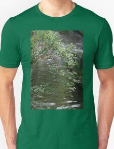 river in spring Unisex T-Shirt