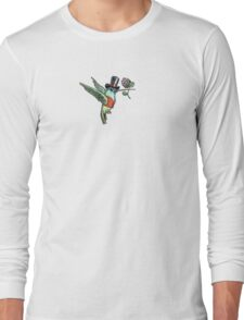 Dapper Hummingbird Long Sleeve T-Shirt