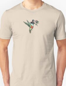 Dapper Hummingbird Unisex T-Shirt