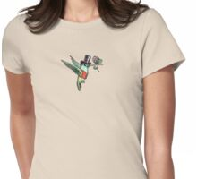 Dapper Hummingbird Womens Fitted T-Shirt