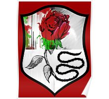 Rose Shield Poster