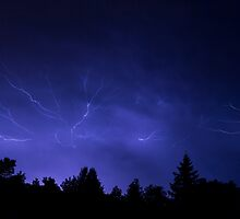 Epic Lightning by Kenneth Keifer
