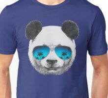 Panda with sunglasses Unisex T-Shirt