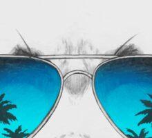 Panda with sunglasses Sticker