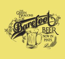 The Hobbit Barefoot Beer Shirt Kids Clothes