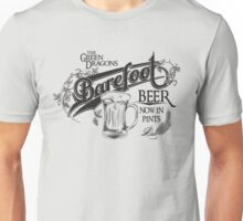 The Hobbit Barefoot Beer Shirt Unisex T-Shirt