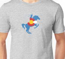 Colorado Cowboy: Colorado Hometown Series Unisex T-Shirt