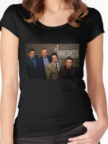 The Immediates full smart band  Women's Fitted Scoop T-Shirt