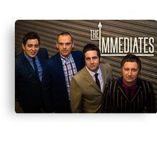 The Immediates full smart band  Canvas Print