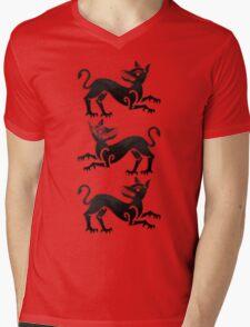 House Clegane Mens V-Neck T-Shirt