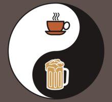 Coffee vs. Beer Baby Tee
