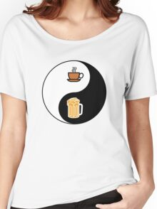 Coffee vs. Beer Women's Relaxed Fit T-Shirt