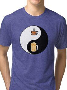 Coffee vs. Beer Tri-blend T-Shirt