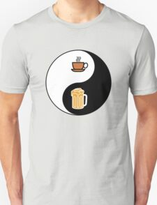 Coffee vs. Beer Unisex T-Shirt