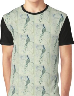 Dusky Peacock Graphic T-Shirt