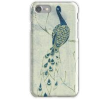 Dusky Peacock iPhone Case/Skin