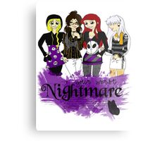 Nightmares and Magic Metal Print