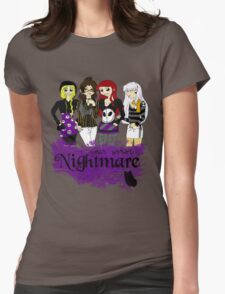 Nightmares and Magic Womens Fitted T-Shirt