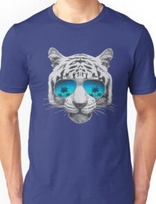 Tiger with sunglasses Unisex T-Shirt