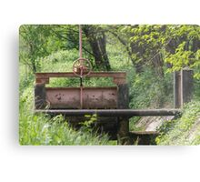 closed on the river Metal Print