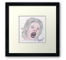 Vampiress Framed Print