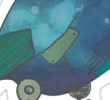Mystic Robotic Bird Sticker