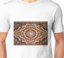 Textured brown background with patterns Unisex T-Shirt